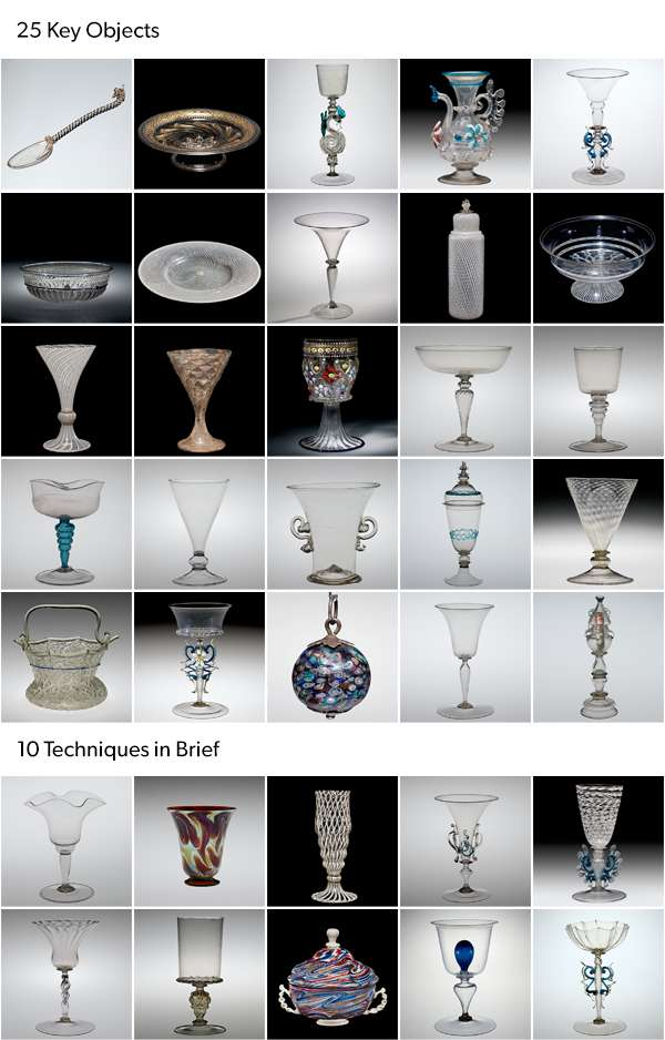 Techniques of Renaissance Venetian Glassworking Reference Collection