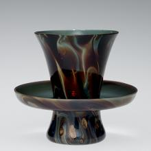 Cup and Saucer (Trembleuse), Venice, Italy, 1700-1799. 53.3.47.