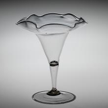 Wineglass, possibly Spain, 1575-1625. Gift of Mrs. Yves Henry Buhler. 63.3.46.