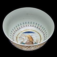 The Rothschild Bowl, Venice, Italy, about 1500-1510. Purchased with funds from the Museum Endowment Fund. 76.3.17.
