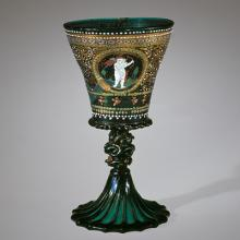Nuptial Goblet, Venice, Italy, 1500-1525. Bequest of Jerome Strauss. 79.3.170.