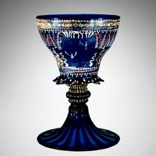 Goblet, Venice, Italy, possibly 1480-1490. Bequest of Jerome Strauss. 79.3.193.