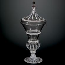 Covered Goblet, Venice, Italy, 1600-1699. Gift of The Ruth Bryan Strauss Memorial Foundation. 79.3.363.