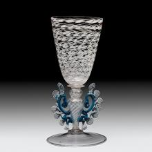 Goblet, Venice, Italy, 1675-1699. Gift of The Ruth Bryan Strauss Memorial Foundation. 79.3.476.