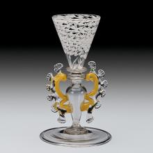 Goblet, Venice, Italy, 1675-1725. Bequest of Jerome Strauss. 79.3.484.