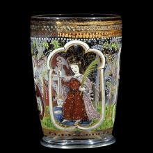 The Behaim Beaker, Venice, Italy, probably 1495. Purchased with funds from the Museum Endowment Fund. 84.3.24.