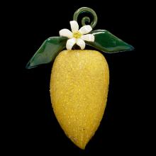 Lemon, Venice, Italy, about 1700. Gift of Rainer Zietz. 99.3.36.