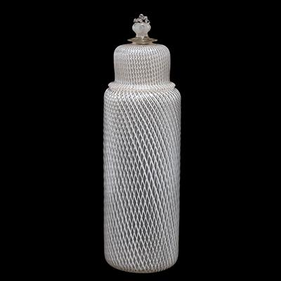 Reticello Lidded Bottle