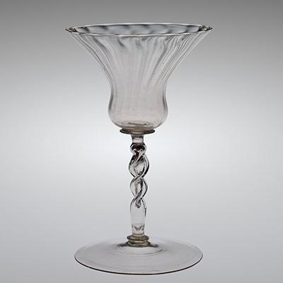 Wineglass with Kuttrolf Stem